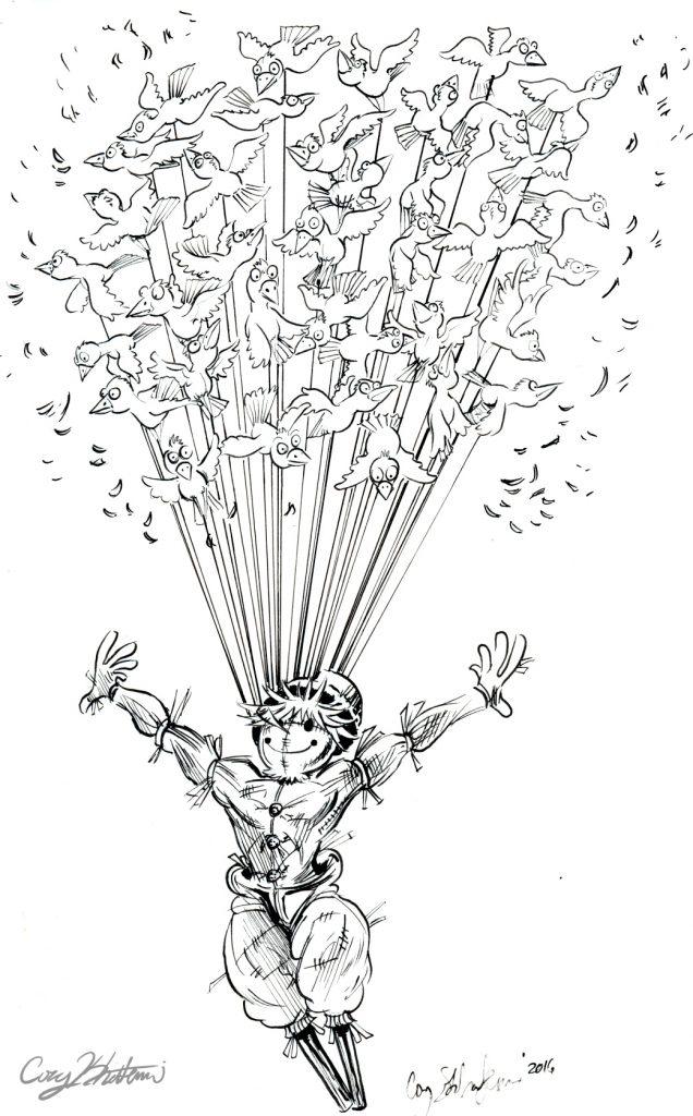 Scarecrow Flight